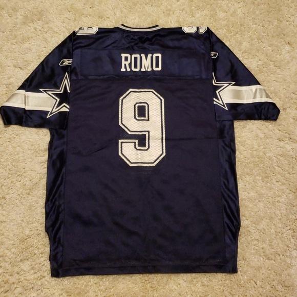 best service 62444 93a60 Authentic Reebok Tony Romo Dallas Cowboys Jersey